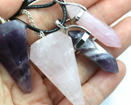 4pc promotional Rose Quartz and Amethyst Set  NA 679