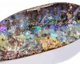 44.65 CTS- BOULDER  OPAL  DRILLED STONE  RJA -1314