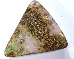 22.00 CTS- BOULDER  OPAL  DRILLED STONE  RJA -1316