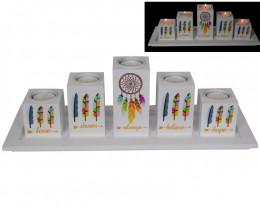 Follow Your Dreams 5 pc Candle Holder code  CANFYD5