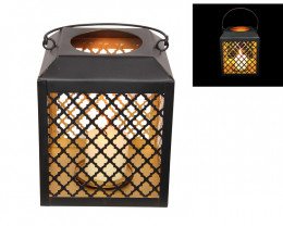 Treasures  Black/Gold Square Lanterns code  LANFERGLS