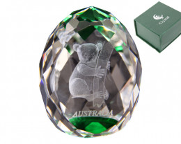Treasures  Koala  Bear Crystal Paperweight code  KOACRYPW