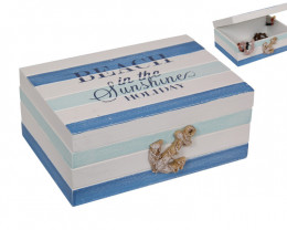 Holiday Mode Beach Box With Anchor on Front code  BEABOXAN