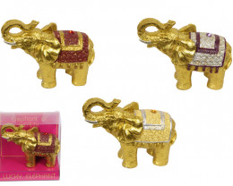 Lucky Golden elephant ,Parcel of three code  ELEGBOXW