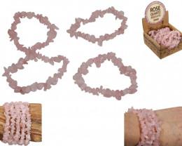 Love Rose Quatrz display  box 25 bracelets Code ROSEQBRA
