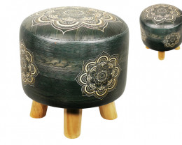Mandala stool cushion   2 pieces   Code STOOMANBG