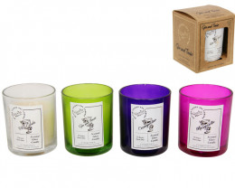 Pack of 4 beautiful Cocktail Scented Candles  code CANCOCK