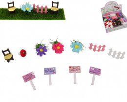 Mini Magic Fairy Garden 120 pc  code MINIFAIG