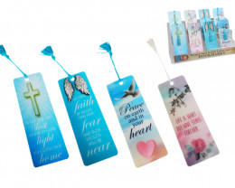 Religious 3D Bookmarks display box of 80   Code 3DBMREL