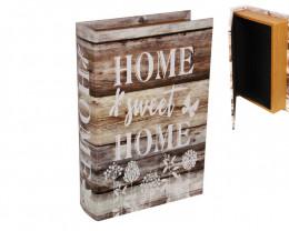 Fern Book Box Home Sweet Home storage box   Code BOOKHOMF