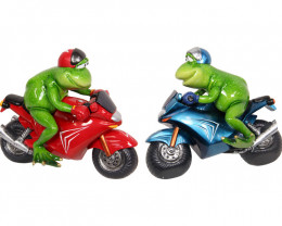 Racing Biker Frogs Large  2 pcs  Code FROGMBIRA