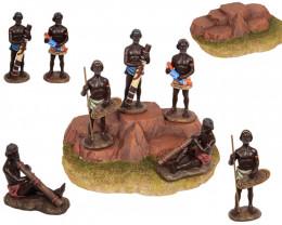 Uluru Australian Aboriginal display 24 pcs  Code ABODISX