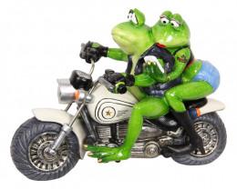 Couple Biker Frog Cruising   Code FROGMBC