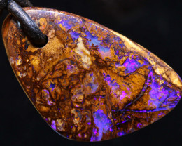 28 CTS YOWAH OPAL DRILLED PENDANT  AO-165