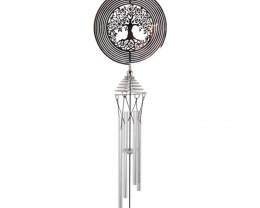 Cosmo Spinner Windchime  Code CSC18TL