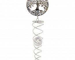 Metal Crystal Tree of Life Spinner  Code SPINNTL