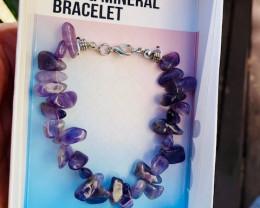Promotional Amethyst Gemstone Bracelets Code GEMBRACE