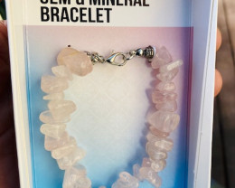 Promotional Rose quartz  Gemstone Bracelets Code GEMBRACE