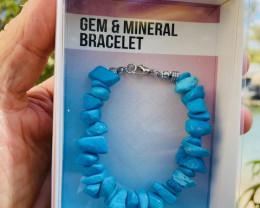 Promotional Turquoise  Gemstone Bracelets Code GEMBRACE