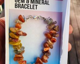 Promotional Agate  Gemstone Bracelets Code GEMBRACE