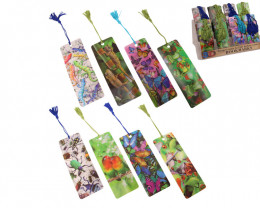 Colorful Rainforest 3D Bookmarks 80 pcs  Code 3DBMRF