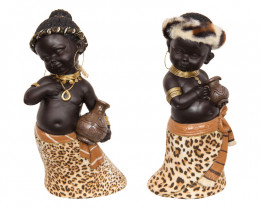Cute Africans Animal Print 2pcs  Code AFRAPST