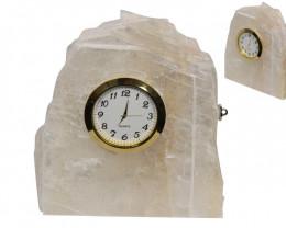 Crystal Selenite Clock  Code SELCLOCK