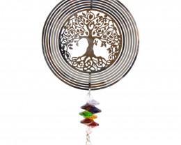 Treasures Tree of Life Crystal Suncatcher  Code TOLSCJ