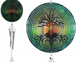 Treasure Box of Tree Of Life Spinner Windchime 2pcs  Code TOLSPWC