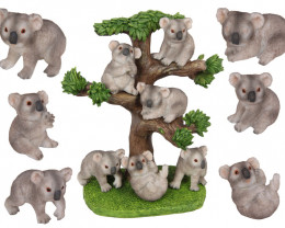 Treasure Baby Coalas on Tree display 36 pcs  Code KOADAVEP