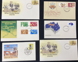Australian Stamps  first day covers 1980s code  CCC 159
