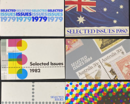 Australian Stamps c selected issues 1979-84 code  CCC 162