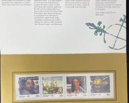 Australian Stamps  Terra australis code  CCC 167
