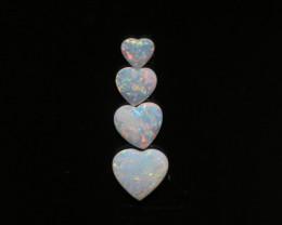 1.14 Cts Parcel of 4   Australian Opal  CH 665