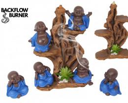 Treasure Box of Blue Monk on Tree display 24 pcs  Code MONBLPK