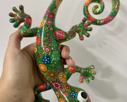 Treasure Box of Multi Coloured Lizard Code LIZGOOWAD