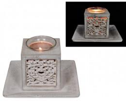 Treasure Box of Decor Heart Filigree Tealight Holder  Code CANHEARS