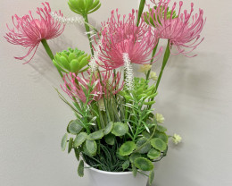 Pink Potted Flower  Code PLAWHPOT