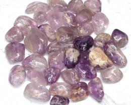 1kg Amethyst Tumbled Stone (3cm) Parcel