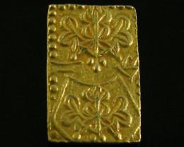 MEIJI DYNASTY NIBUKIN GOLD COIN 1868-1869 JCCA80