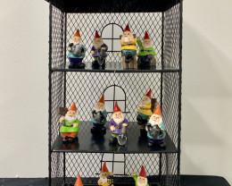 Treasure Box of Fairy Garden Gnomes display of 72 pcs  Code GNOMEFG