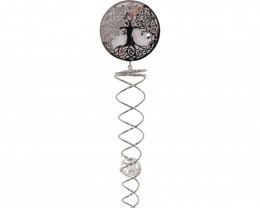 Silver Tree Of Life Spinner  Code SPINTOLL