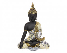Treasure Box of Buddha in Blue/Gold  Code BUDDBLU15
