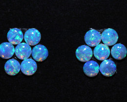 1.59 Cts Parcel of 14  Aussie Crystal  Opals    code NA 678