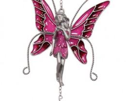 Pink Fairy Windcharm  Code FAIRYPWC3