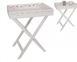 Treasure Box of White Foldable Table  Code TABLEF