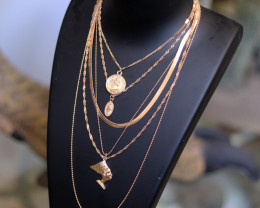 Bohemia  Lightweight Gold necklace CCC 175