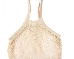 Cream Cotton String Shopping Bag code 35395