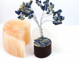 Lapis Lazuli  Gemstone Tree wire wrap code CCC 200