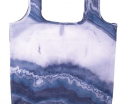 #1 Foldable Shopper With Clip Geode    code 35406